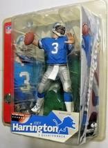 McFarlane NFL Series 6 Joey Harrington Chase Variant Lions Blue Jersey F... - $10.84