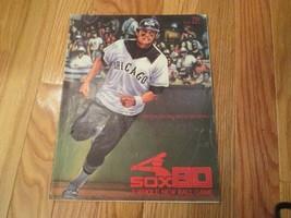 1980 Chicago White Sox Scorebook Program Souvenir Magazine MLB Baseball - $6.99