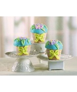 Set of 3 Floral Basket Cake Pans Silicone - $14.99