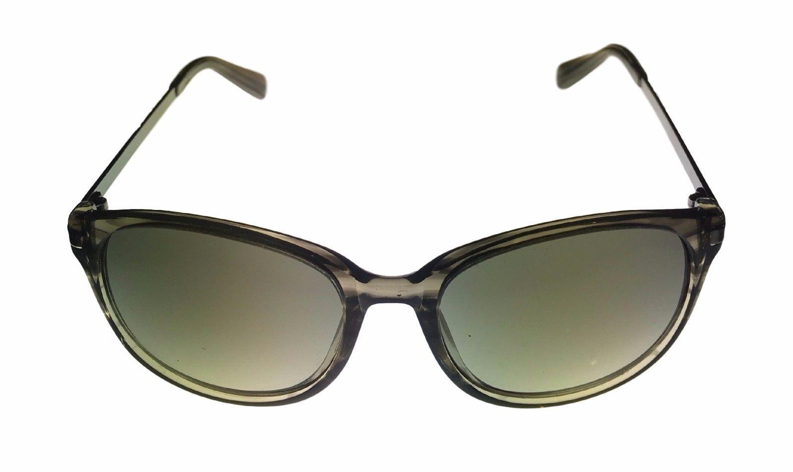 Kenneth Cole New York Mens Sunglass Soft Round Black, Smoke Lens KC7006 98F image 2