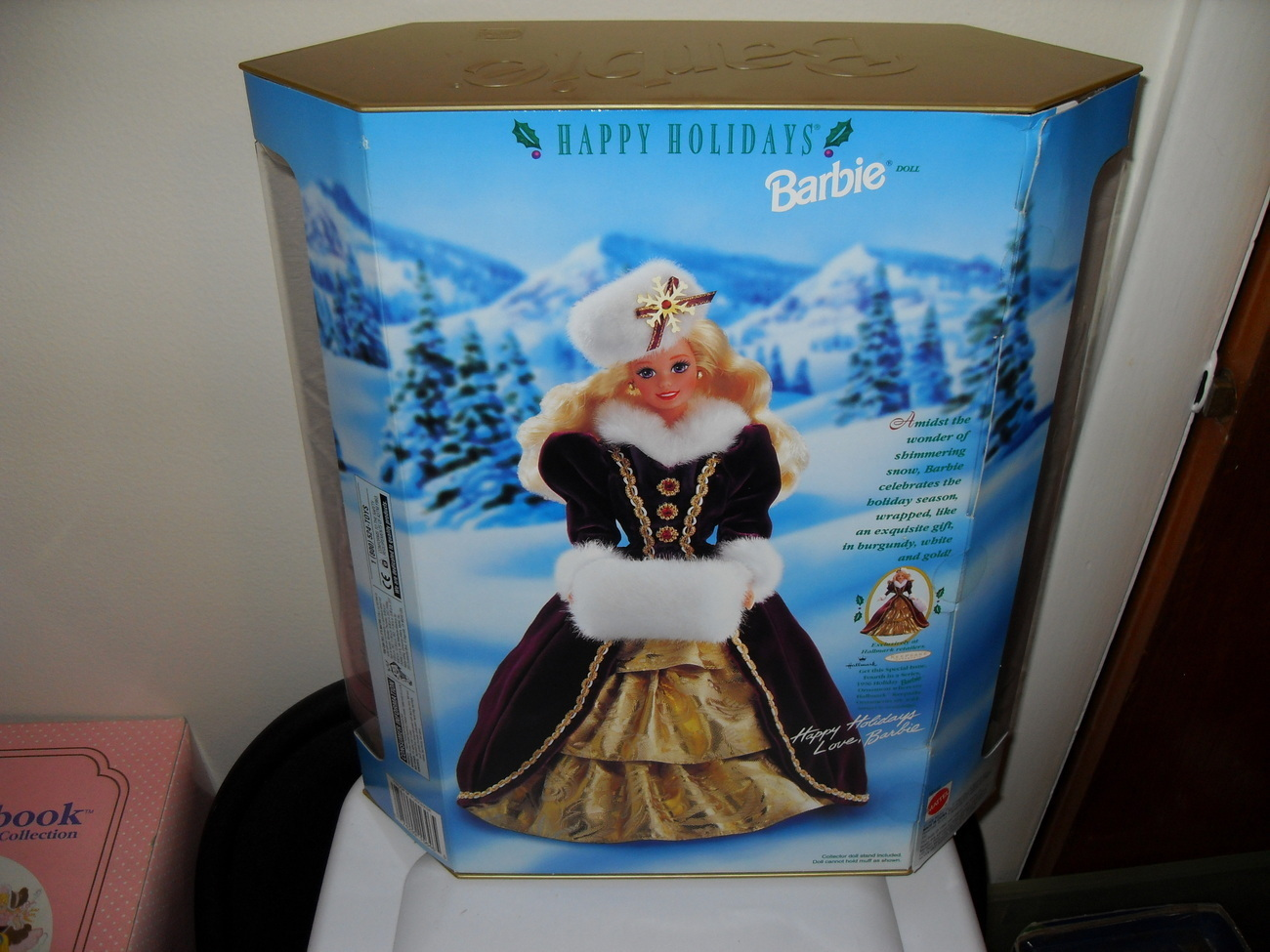 1996  Holiday Barbie In The Box    Special Edition