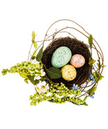 """Egg Nest With Berries 10 1/4"""" X 9 1/2"""" - $8.00"""
