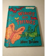 Dr Seuss~ Wings On Things~ Bright And Early Books 1982 - $5.93