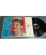 Thrill To The Fabulous CAROL BRUCE 1958 Tops LP TONY MOTTOLA WKRP In Cin... - $9.77