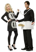 Rasta Imposta Plug and Socket Lightweight Funny Couples Halloween Costume GC7233 - £48.50 GBP
