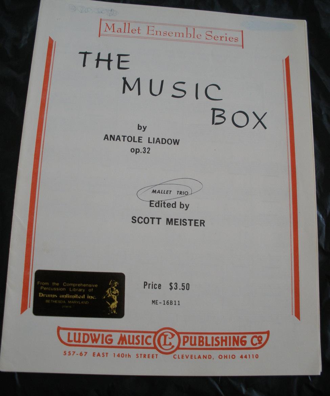 Music box   liadow meister