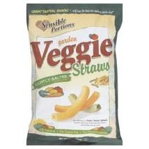 Sensible Portions Garden Veggie Straws, Sea Salt, 7 oz - $12.99
