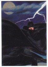 The Shadow Movie Trading Card Foil Engraved Chase Card S2 - $2.00