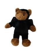 Gund Teddy Bear Wearing Black Bat Costume Outfit - $10.88