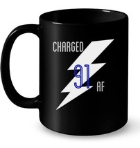 Lightning Bolts Charged AF 91 Stammer Gift Coffee Mug - $13.99+