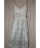 City Triangles Prom Cotillion Dress Juniors 3 Ivory - $33.00