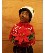 Byers Choice Caroler, African American Girl Wit... - $55.00