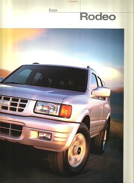 1998 Isuzu RODEO sales brochure catalog US 98 S LS Passport