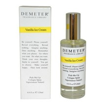 Vanilla Ice Cream By Demeter For Women Pick me Up Cologne Spray 4.0 Oz - $21.90