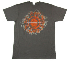 A Perfect Circle-Orange Octopus-2011 Tour-Grey t-shirt - $22.99