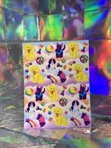 SALE⚡️S243  Lisa Frank Puppies Lab Scottie Spaniel Classic Sticker Sheet Full