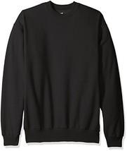 Hanes Men's Ecosmart Fleece Sweatshirt Black 3XL 2-Pack - $27.04