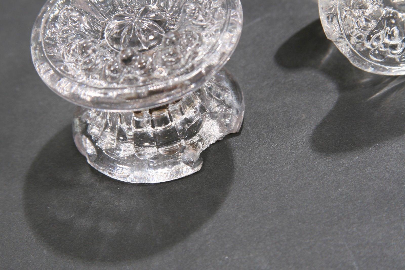Mixed Lot Of 12 Antique Vintage Glass Drawer Door Cabinet Pulls Handles