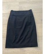 H&M Womens Black Skirt Pencil Size 4 Office Career Attire New With Tags - $20.00