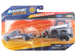 Adventure Force Granite Construction Truck & Trailer with Skidsteer Diec... - $14.88