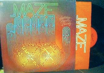 Maze featuring Frankie Beverly - Self Titled - Capitol Records ST-11607