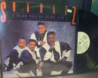 Shabazz - Glad You're In My Life / Where's Your Head - RCA 9148-1-RDAB - PROMO