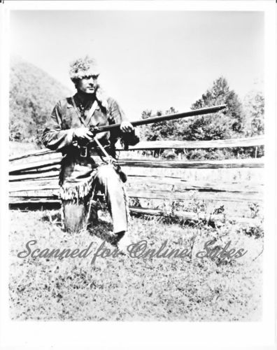 Primary image for Fess Parker Davey Crockett 8x10 Photo 1362801