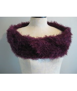 Magic Scarf  Purple Soft And Comfy - $8.00