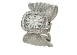 Geneva Platinum 12298112-SILVER Women's Oval Face Mesh Watch - $29.99
