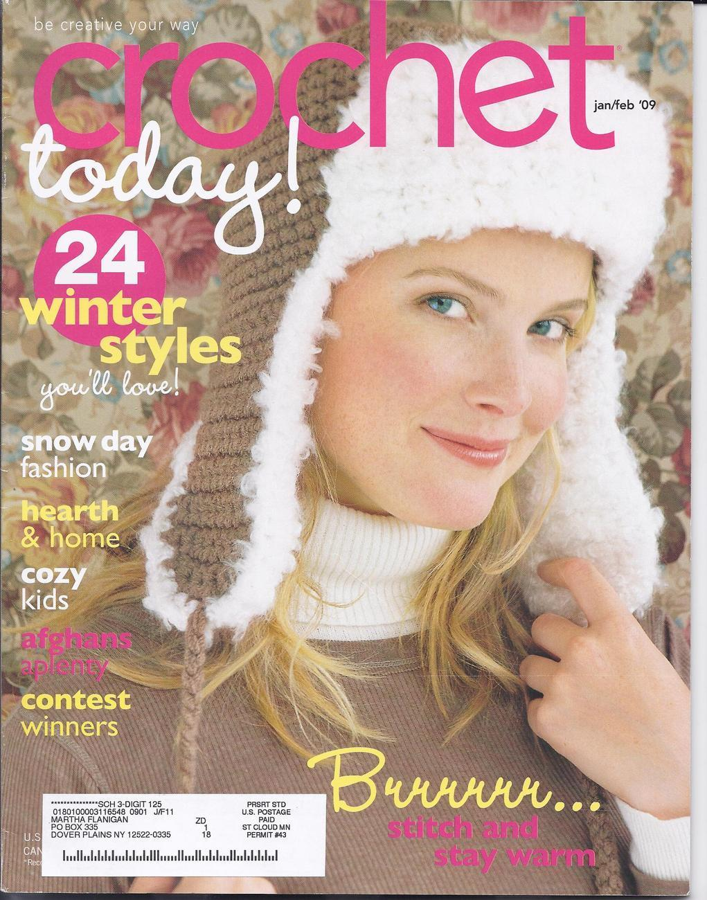 Crochet Today Magazine : Crochet Today! Magazine Jan/Feb 2009 - Mixed Crochet