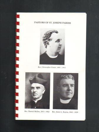 St. Joseph's Parish Centennial Year Booklet, 1991, Manhattan, Illinois