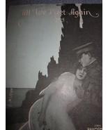 Vintage Sheet Music Till We Meet again Song 1918 - $7.99