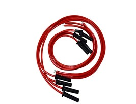 9.5mm Red Silicone High Performance Spark Plug Wire Set Universal Fit V8 V6 image 2