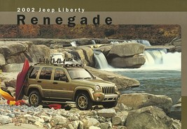 2002 Jeep LIBERTY RENEGADE sales brochure sheet US 02 - $6.00