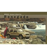 2002 Jeep LIBERTY RENEGADE sales brochure sheet US 02 - $6.00