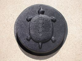 "16""x2"" ROUND PLAIN CONCRETE STEPPING STONE MOLD, MOULD- MAKE FOR PENNIES EACH image 4"