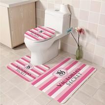 Hot Victoria's_Secret242 Toilet Set Anti Slip Good For Decoration Your Bathroom  - $20.09