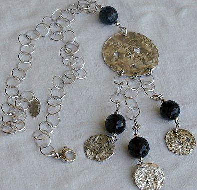 Armenian silver necklace