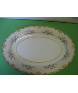 "Noritake China M Backstamp Floral Oval 16"" Turkey or Meat Platter - $49.99"