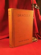 DRACULA by Bram Stoker - Doubleday early edition -Halloween orange binding - $1,406.30