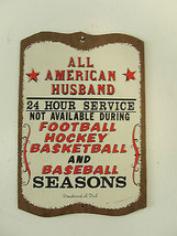 All American Husband, souvenir from Deadwood, South Dakota, wooden humor... - $23.28