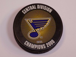 St Louis Blues Hockey Saint Puck NHL Stanley Cup Central Division Champi... - £14.65 GBP