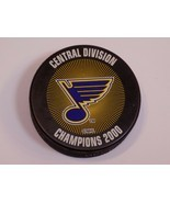 St Louis Blues Hockey Saint Puck NHL Stanley Cup Central Division Champi... - £14.19 GBP