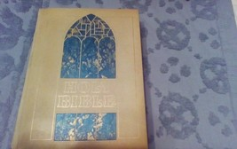 Vintage Holy Bible Memorial Edition King James Version Letter Edition - $18.70