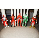 Power Rangers Figures   Lot Of 5 Figures - $12.99