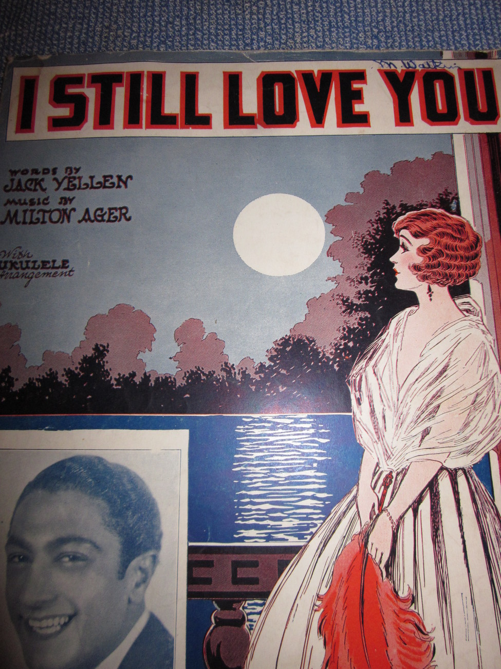 Vintage Sheet Music I Still Love You a Billy Snyder Arrangement 1928