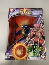 Bandai Mighty Morphin Power Rangers Deluxe Evil Space Aliens Goo Fish New 1994 - $17.44