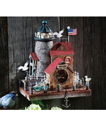 Cape Cod Wall Mounted Resin Birdhouse - $23.95
