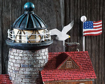Cape Cod Wall Mounted Resin Birdhouse