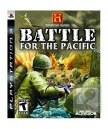 History Channel Battle for the Pacific PS3 Video Game Shooter PreOwned - $10.99